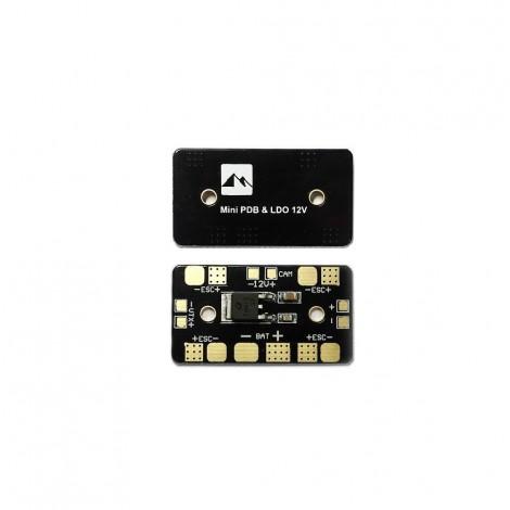 Matek - Mini PDB /w Linear Regulator 12V