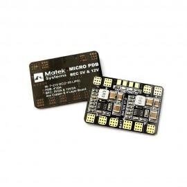 Matek - Micro PDB /w 5V & 12V BEC