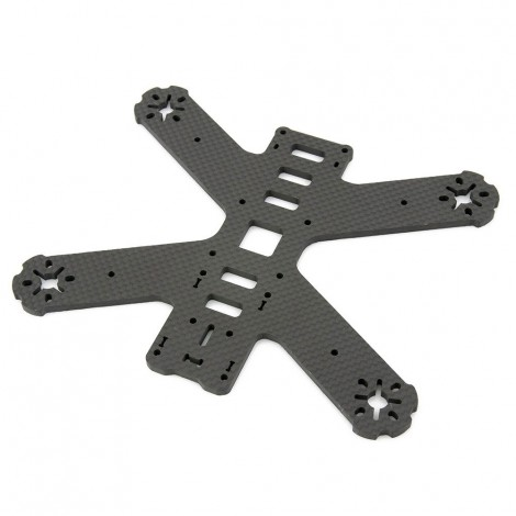 "QAV180 Carbon Fiber Main ""Unibody"" Frame Plate (4mm)"