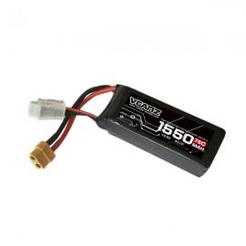 VCANZ 1550mAh 4s 75C LiPo Batterie (XT60)