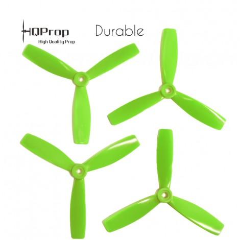 HQProp 5x4.6x3 Durable Propeller - Grün (Triblade)