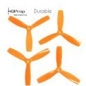 HQProp 5x4.6x3 Durable Propeller - Orange (Triblade)