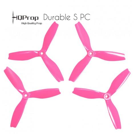 HQProp 5x4x3 Durable S PC Propeller - Pink (Triblade)