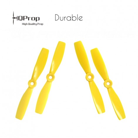 HQProp 5x4.6 Durable Propeller - Gelb