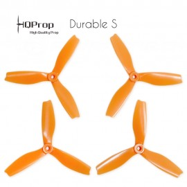 HQProp DPS 5x4x3 Durable S Propeller - Orange  (Triblade)
