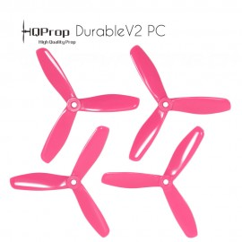 HQProp DP 5x4.5x3 Durable V2 PC Propeller - Pink