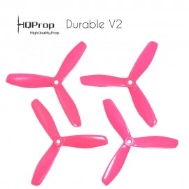 HQProp DP 5x4.5x3 Durable V2 Propeller - Pink