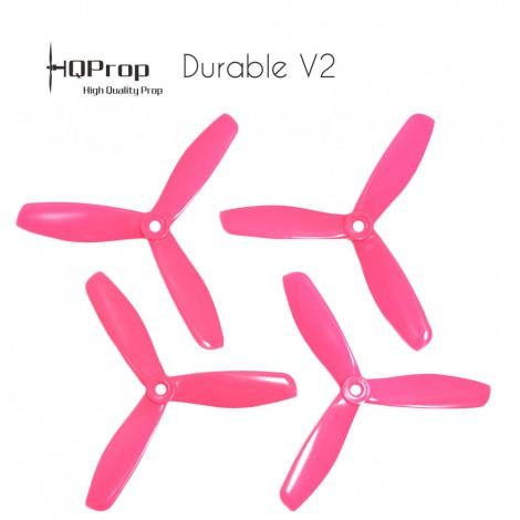 HQProp DP 5x4.5x3 Durable V2 Propeller - Pink