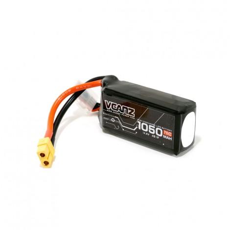 VCANZ 1050mAh 4s 75C Lipo Battery (XT60)
