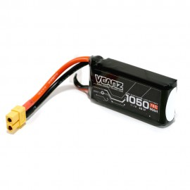 VCANZ 1050mAh 3s 75C LiPo Batterie (XT60)