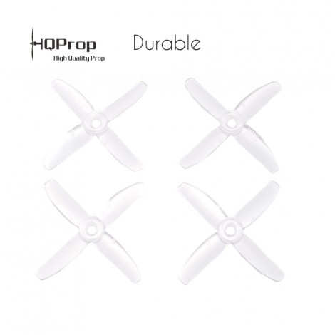 HQProp 3x3x4 Durable - Clear