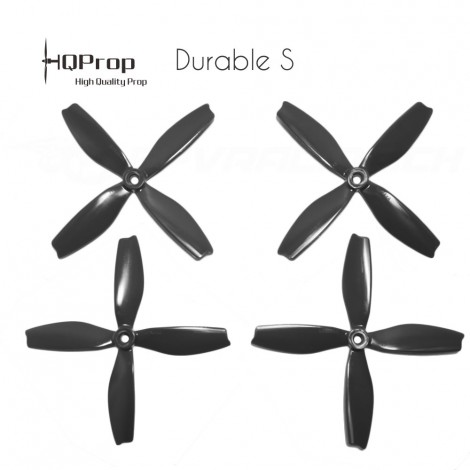 HQProp DPS 5x4x4 Durable S Propeller - Schwarz