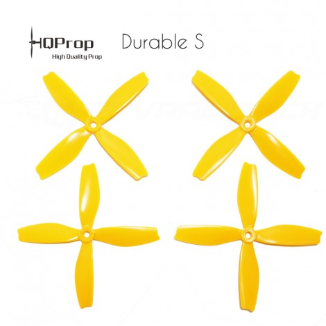 HQProp DPS 5x4x4 Durable S Propeller - Gelb
