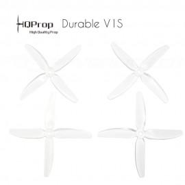 HQProp DP 5x4x4 Durable V1S PC Propeller - Clear