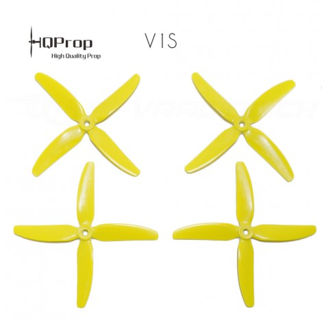 HQProp 5x4x4 V1S Propeller - Gelb (Mr Steele)