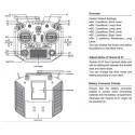 FrSky Taranis Q X7 2.4GHz 16CH Transmitter (Weiss)
