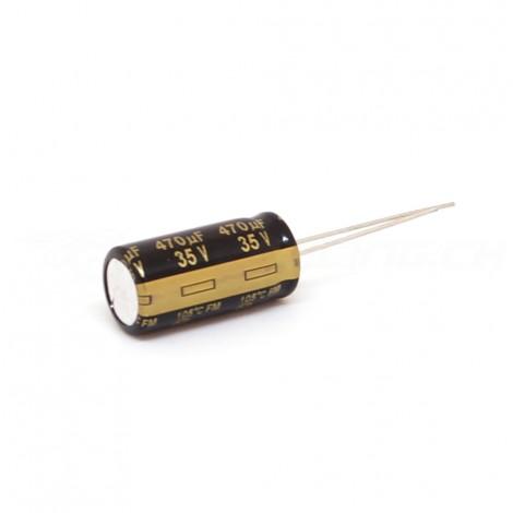 470 uF, 35VDC - Low ESR Capacitor