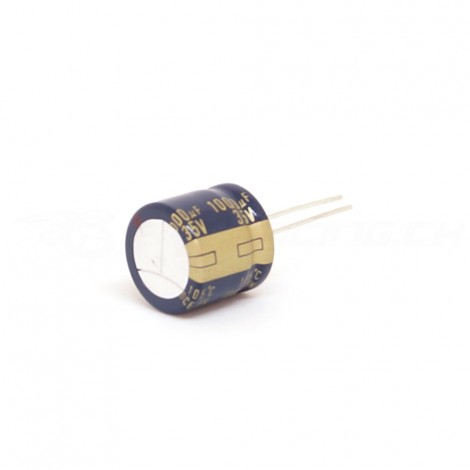 1000 uF, 35VDC - Low ESR Capacitor (short)