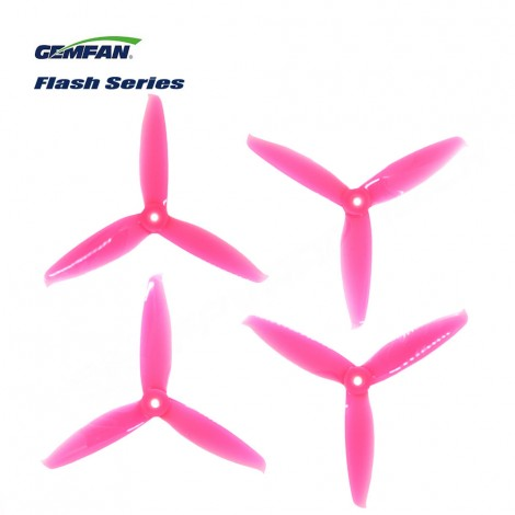 Gemfan 5152-3 Flash Series Propeller - Pink