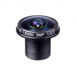 Ersatzlinse für 1/3-Zoll Kameras  (1.8mm)