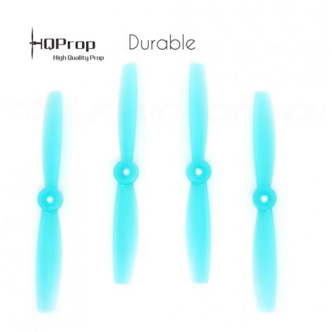 HQProp DP 5.5x4.5 Durable PC Propeller - Licht Blau