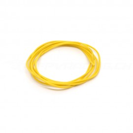1m Silicone Wire 26AWG Yellow