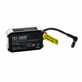 Fat Shark 1.8Ah 7.4V pack w/LED indicator and USB