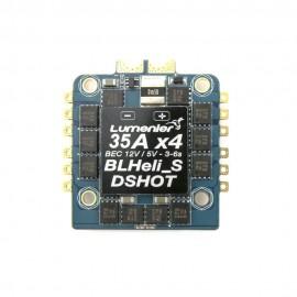 Lumenier BLHeli_S 35A 4-in-1 12v / 5v BEC DSHOT ESC + Current Sensor