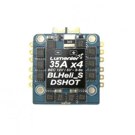 Lumenier BLHeli_S 35A 4-in-1 OPTO DSHOT ESC + Current Sensor