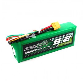 Multistar High Capacity 4S 5200mAh LiPo Battery (XT60)