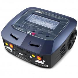 SkyRC - D100 AC/DC 2x100W LiPo 1-6S 10A Ladegerät