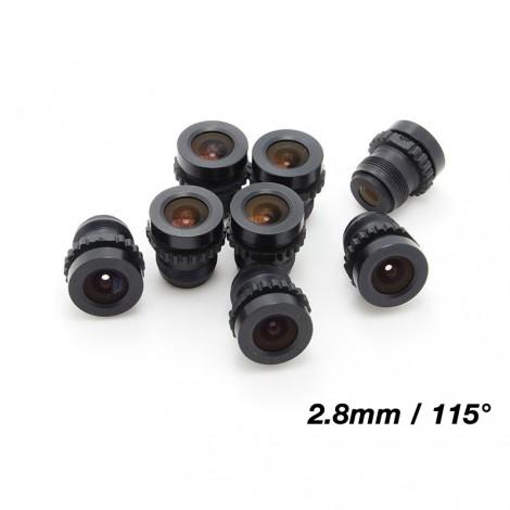 Ersatzlinse für 1/3-Zoll Kameras  (2.5mm)