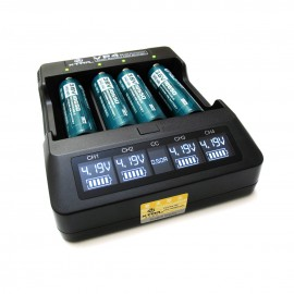 Xtar VP4 Charger for Li-Ion-Batteres