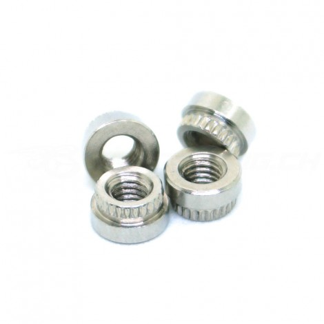 M3 Stainless Steel Sunk Nuts (x4)