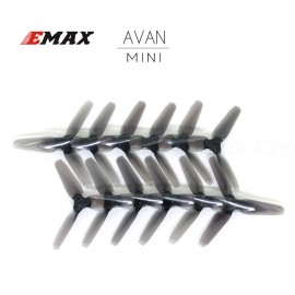 "AVAN MINI 3"" Prop 6 CW + 6 CCW - Licht Schwarz"