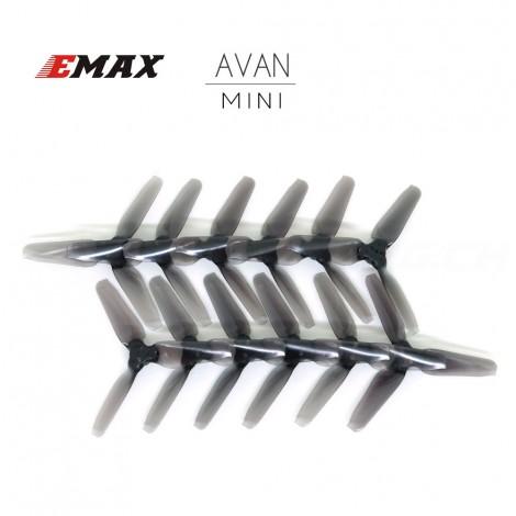 "AVAN MINI 3"" Prop 6 CW + 6 CCW - Clear Black"