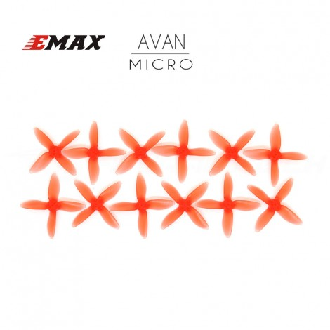 """AVAN MICRO 2"""" Prop 6 CW + 6 CCW - Frosted Red"""