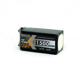 VCANZ 1500mAh 4s 120C LiPo Batterie (XT60)