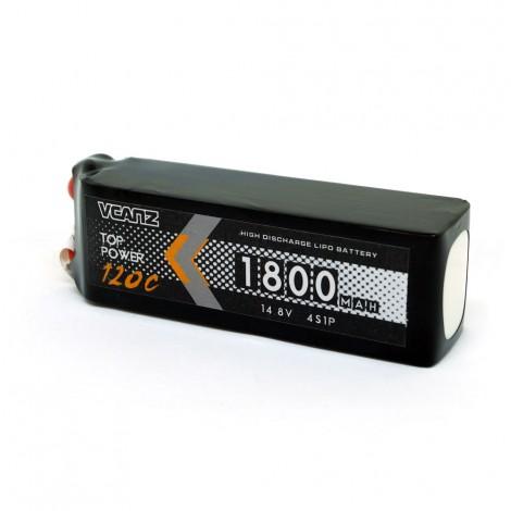 VCANZ 1800mAh 4s 120C LiPo Batterie (XT60)