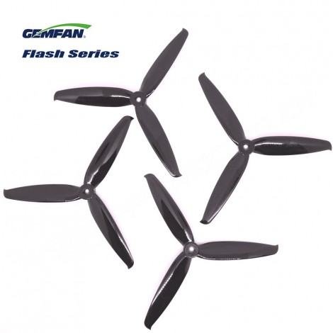 Gemfan 6042-3 Flash Series Propeller - Black