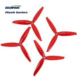 Gemfan 6042-3 Flash Series Propeller - Rot