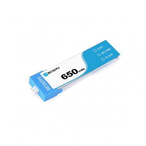 BetaFPV 650mAh 1S LiHV Batterie