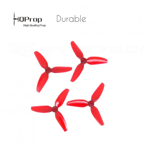 HQProp T3x3x3 Durable Propeller - Rot