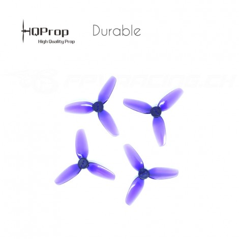 HQProp T2.5x3.5x3 Durable Propeller - Purpur