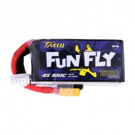 TATTU Fun Fly 1550mAh 4S 100C (XT60)