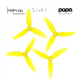 HQProp DP 5.1x4.1x3 Durable PC Propeller - Yellow