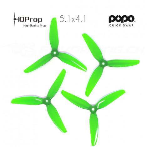 HQProp DP 5.1x4.1x3 Durable PC Propeller - Light Green