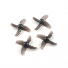 40mm 4-Blatt Micro Whoop Propeller (1mm Shaft)