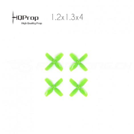 HQProp 1.2x1.3x4 (31mm, 4-Blatt, 1.0mm Shaft)