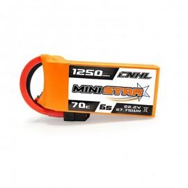 CNHL 1250mAh 6S 70C LiPo (XT60)